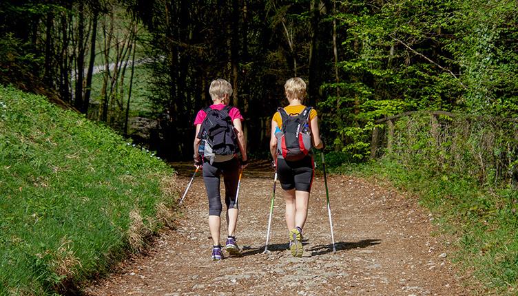 Fit mit Nordic Walking